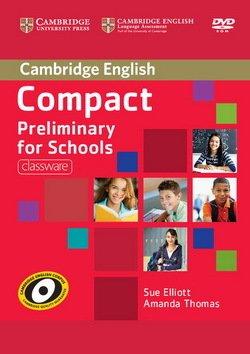 Compact Preliminary for Schools (PET4S) Classware DVD-ROM - Sue Elliott - 9781107692336