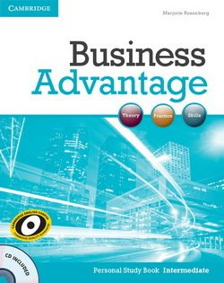 Business Advantage Intermediate Personal Study Book with Audio CD - Marjorie Rosenberg - 9781107692640