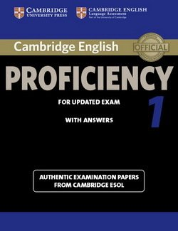 Cambridge English: Proficiency (CPE) 1 Student's Book with Answers -  - 9781107695047
