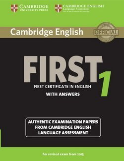 Cambridge English: First (FCE) 1 Student's Book with Answers -  - 9781107695917