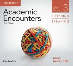 Academic Encounters (2nd Edition) 3: Life in Society Listening and Speaking Class Audio CDs (3) - Kim Sanabria - 9781107697843