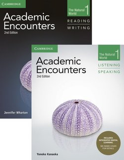 Academic Encounters (2nd Edition) 1: The Natural World Two Book Set (R&W Student's Book with WSI & L&S Student's Book with IDL) - Jennifer Wharton - 9781108348300