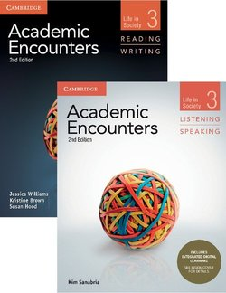 Academic Encounters (2nd Edition) 3: Life in Society Two Book Set (R&W Student's Book with WSI & L&S Student's Book with IDL) - Kim Sanabria - 9781108348317