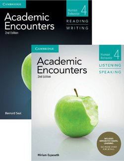 Academic Encounters (2nd Edition) 4: Human Behavior Two Book Set (R&W Student's Book with WSI & L&S Student's Book with IDL) - Bernard Seal - 9781108348324