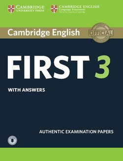 Cambridge English: First (FCE) 3 Student's Book with Answers & Audio Download -  - 9781108380782