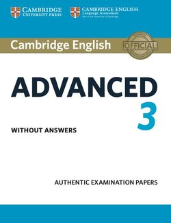 Cambridge English: Advanced (CAE) 3 Student's Book without Answers -  - 9781108431200