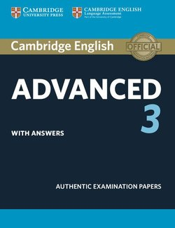 Cambridge English: Advanced (CAE) 3 Student's Book with Answers -  - 9781108431217