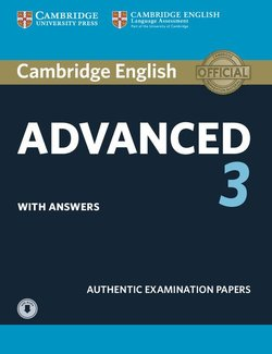 Cambridge English: Advanced (CAE) 3 Student's Book with Answers & Audio Download -  - 9781108431224