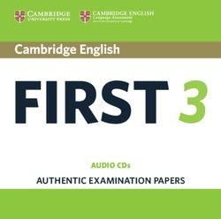 Cambridge English: First (FCE) 3 Audio CDs (2) -  - 9781108433747