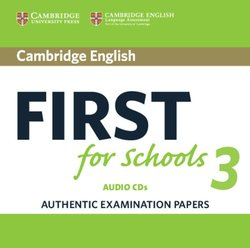 Cambridge English: First (FCE4S) for Schools 3 Audio CDs (2) -  - 9781108433815