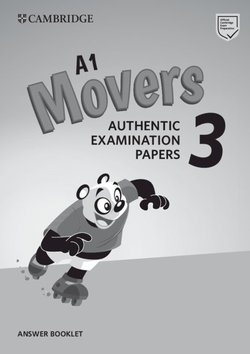 A1 Movers 3 Authentic Examination Papers Answer Booklet -  - 9781108465182