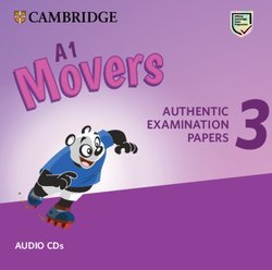 A1 Movers 3 Authentic Examination Papers Audio CDs -  - 9781108465236