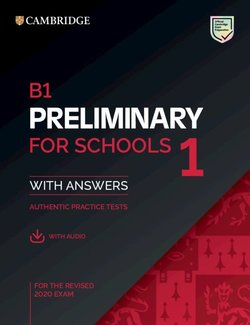 B1 Preliminary for Schools (PET4S) (2020 Exam) 1 Student's Book Pack (Student's Book with Answers & Audio Download) -  - 9781108652292