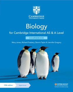 Cambridge International AS & A Level Biology (5th Edition) Coursebook with Digital Access (2 Years) - Mary Jones - 9781108859028