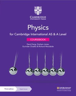 Cambridge International AS & A Level Physics (3rd Edition) Coursebook with Digital Access - David Sang - 9781108859035