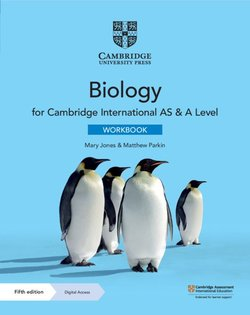 Cambridge International AS & A Level Biology (5th Edition) Workbook with Digital Access (2 Years) - Mary Jones - 9781108859424