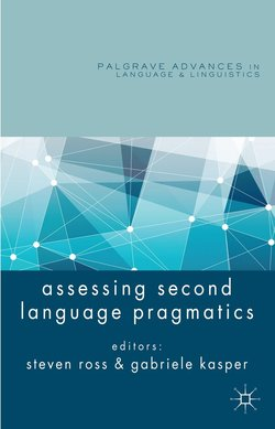 Assessing Second Language Pragmatics (Hardback) - S. Ross - 9781137003515