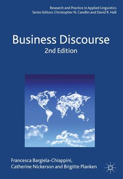 Business Discourse (2nd Edition) - Francesca Bargiela-Chiappini - 9781137024923