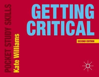 Getting Critical - Kate Williams - 9781137402516