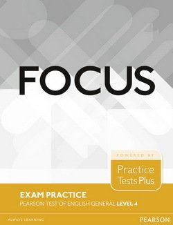 Focus Exam Practice: Pearson Tests of English General Level 4 (C1) -  - 9781292148908