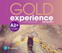 Gold Experience (2nd Edition) A2+ Pre-Preliminary for Schools Class Audio CDs - Amanda Maris - 9781292194394