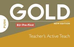 Gold (New Edition) B1+ Pre-First Teacher's ActiveTeach on USB Stick -  - 9781292202631