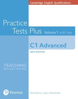 Cambridge English: Advanced (CAE) Practice Tests Plus 1 (New Edition) Student's Book with Key & Online Audio - Nick Kenny - 9781292208725