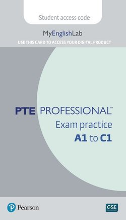 PTE Professional Exam Practice A1 to C1 MyEnglishLab Internet Access Card -  - 9781292285993