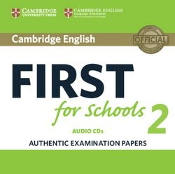 Cambridge English: First (FCE4S) for Schools 2 Audio CDs (2) -  - 9781316503492