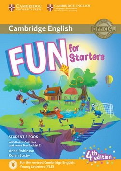 Fun for Starters (4th Edition - 2018 Exam) Student's Book with Audio Download