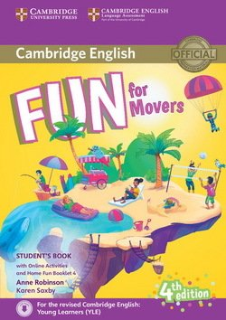 Fun for Movers (4th Edition - 2018 Exam) Student's Book with Audio Download