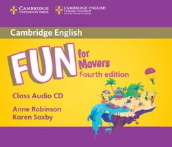 Fun for Movers (4th Edition - 2018 Exam) Audio CD - Anne Robinson - 9781316617564