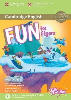 Fun for Flyers (4th Edition - 2018 Exam) Student's Book with Audio Download