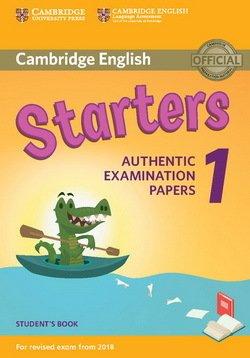 Cambridge English: (2018 Exam) Starters 1 Student's Book -  - 9781316635896