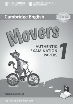 Cambridge English: (2018 Exam) Movers 1 Answer Booklet -  - 9781316635940