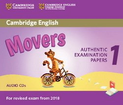 Cambridge English: (2018 Exam) Movers 1 Audio CDs (2) -  - 9781316635988