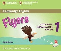 Cambridge English: (2018 Exam) Flyers 1 Audio CDs (2) -  - 9781316635995