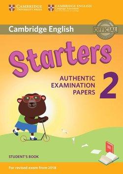 Cambridge English: (2018 Exam) Starters 2 Student's Book -  - 9781316636237