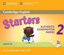 Cambridge English: (2018 Exam) Starters 2 Audio CD -  - 9781316636299