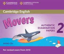 Cambridge English: (2018 Exam) Movers 2 Audio CDs -  - 9781316636305