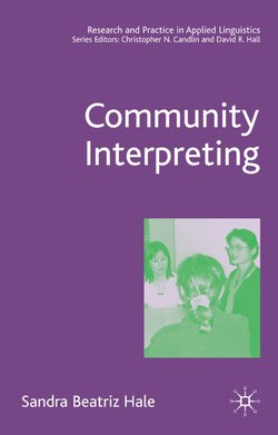 Community Interpreting - S. Hale - 9781403940698