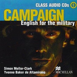 Campaign English for the Military 1 Audio CDs - Simon Mellor-Clark - 9781405009836