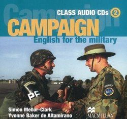 Campaign English for the Military 2 Class Audio CD - Simon Mellor-Clark - 9781405009881