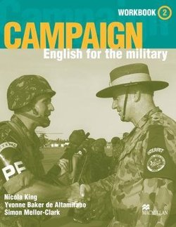 Campaign English for the Military 2 Workbook and Audio CD - Simon Mellor-Clark - 9781405029018