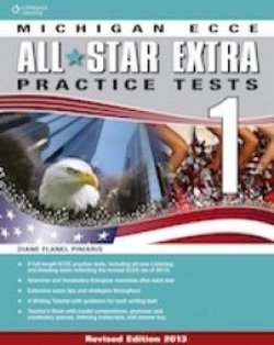 All Star Extra 1 Michigan ECCE Student Book & Glossary Pack - Diane Flanel Piniaris - 9781408061404