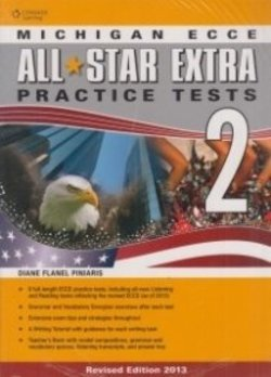 All Star Extra 2 Michigan ECCE Student Book & Glossary Pack - Diane Flanel Piniaris - 9781408061459