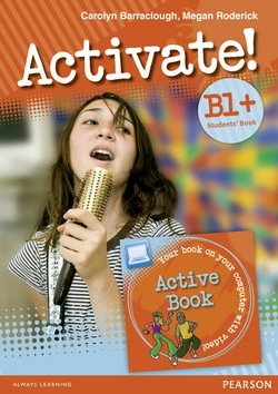 Activate! B1+ Student's Book with ActiveBook CD-ROM - Carolyn Barraclough - 9781408253885