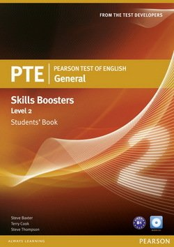 Pearson Test of English (PTE) General Skills Booster Level 2 Student's Book - Terry L. Cook - 9781408267820