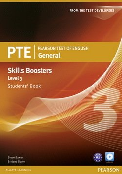 Pearson Test of English (PTE) General Skills Booster Level 3 Student's Book - Steve Baxter - 9781408267837