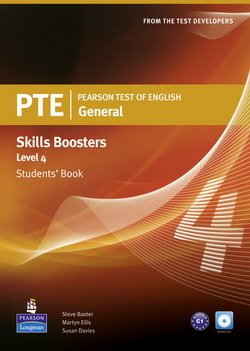 Pearson Test of English (PTE) General Skills Booster Level 4 Student's Book - Susan Davies
